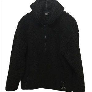 Eddie Bauer Sherpa Quarter Zip Pullover